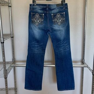 ZCO bedazzled jeans